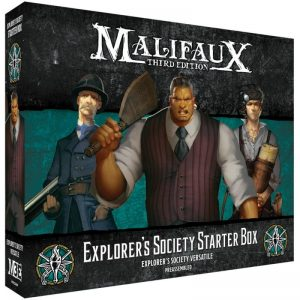 Wyrd Malifaux  The Explorer's Society Explorer's Society Starter Box - WYR23809 -