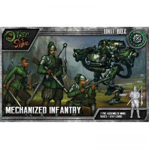 Wyrd The Other Side  Abyssinia Mechanized Infantry - WYR40157 - 812152030237