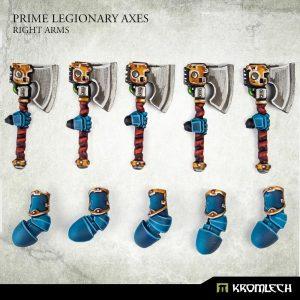 Kromlech   Legionary Conversion Parts Prime Legionaries CCW Arms: Axes (right arms) - KRCB270 - 5908291070922