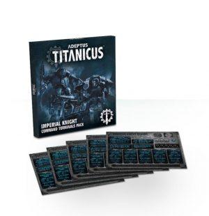Games Workshop (Direct) Adeptus Titanicus  40k Direct Orders Adeptus Titanicus: Imperial Knight Command Terminals Pack - 60220399010 - 5011921113064