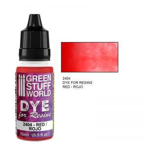 Green Stuff World   Resin Dye for Resins RED - 8436574507638ES - 8436574507638