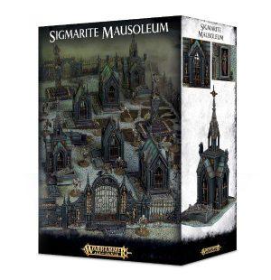 Games Workshop   Age of Sigmar Terrain Sigmarite Mausoleum - 99120299041 - 5011921088430