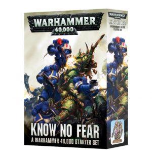 Games Workshop (Direct) Warhammer 40,000  Warhammer 40000 Essentials Warhammer 40,000: Know No Fear - 60010199017 - 5011921085507