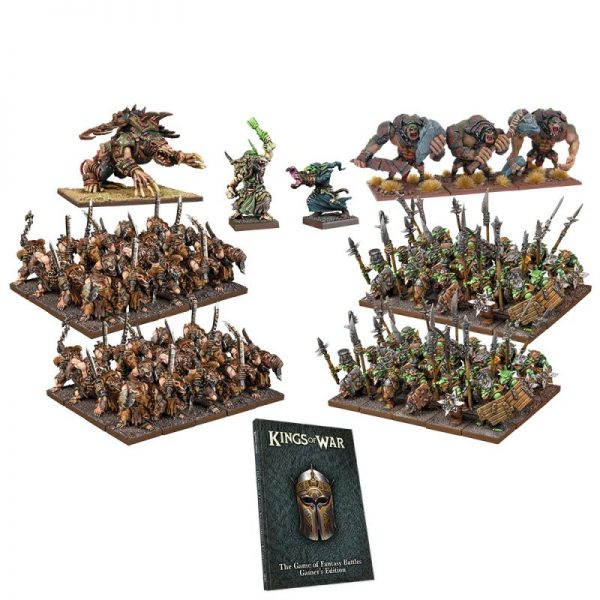 Mantic Kings of War  Kings of War Essentials Kings of War: War in the Holds - Two Player Starter Set - MGKWM112 - 5060469666105