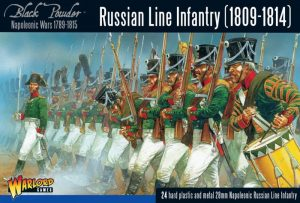 Warlord Games Black Powder  Russians (Napoleonic) Napoleonic Russian Line Infantry (1809-1814) - 302012201 - 5060393708742