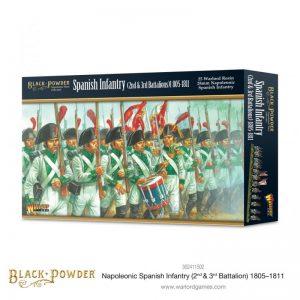 Warlord Games Black Powder  Spanish (Napoleonic) Napoleonic Spanish Infantry (2nd & 3rd Battalions) 1805-1811 - 302411502 - 5060572508019