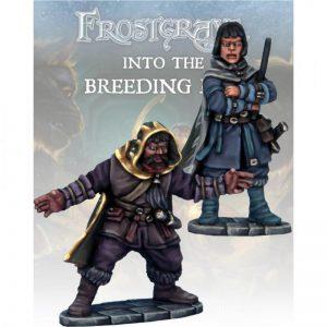 North Star Frostgrave  Frostgrave Elementalist & Apprentice II - FGV113 -