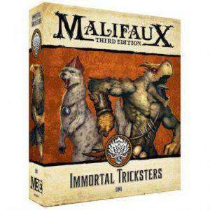 Wyrd Malifaux  Ten Thunders Immortal Tricksters - WYR23719 -