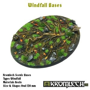 Kromlech   Windfall Bases Windfall oval 120x95mm (1) - KRRB033 -