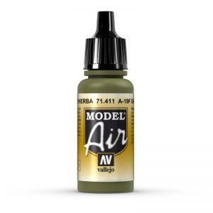 Vallejo   Model Air Model Air: A-19F Grass Green - VAL71411 - 8429551714112
