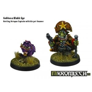 Kromlech   Orc Model Kits Gobossa Blakk Eve with Gnawer - KRM063 - 5902216112223