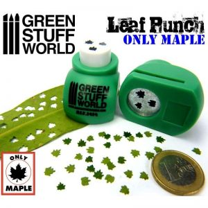 Green Stuff World   Stamps & Punches Miniature Leaf Punch MEDIUM GREEN - 8436554364145ES - 8436554364145