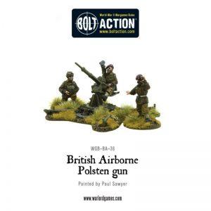 Warlord Games Bolt Action  Great Britain (BA) British Airborne Polsten Gun - WGB-BA-36 - 5060393703815
