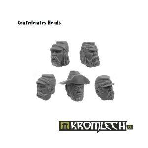 Kromlech   Imperial Guard Conversion Parts Confederates Heads (10) - KRCB045 - 5902216110434