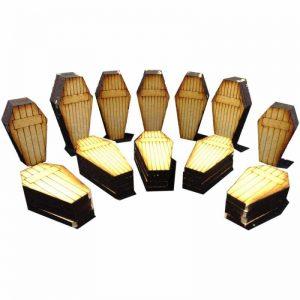 TTCombat   Wild West Scenics (28-32mm) Coffin Set - WWS020 - 5060504042505