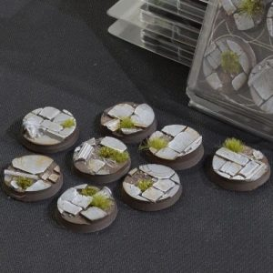 Gamers Grass   Battle-ready Temple Bases Temple Bases Round 32mm (x8) - GGB-TR32 - 738956789174