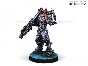 Corvus Belli Infinity  Combined Army Rodok, Armed Imposition Detachment (Missile Launcher) - 280682-0653 - 2806820006530