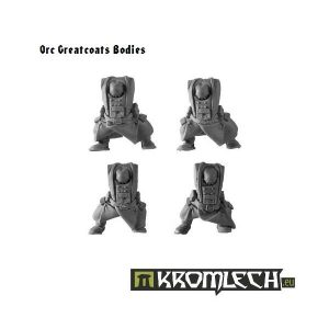 Kromlech   Orc Conversion Parts Orc Bodies in Greatcoats (5) - KRCB026 - 5902216110243