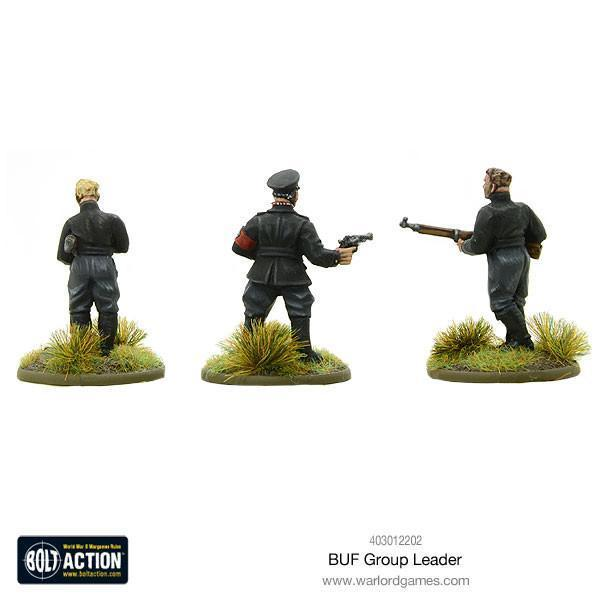 Warlord Games Bolt Action  Great Britain (BA) BUF Group Leader - 403012202 - 5060393706762