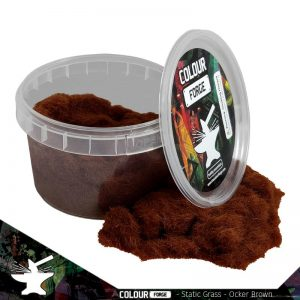 The Colour Forge   Sand & Flock Static Grass - Ocker Brown (275ml) - TCF-BAS-019 - 5060843101024