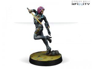 Corvus Belli Infinity  Non-Aligned Armies - NA2 Miranda Ashcroft (Combi Rifle) - 280723-0630 - 2807230006301