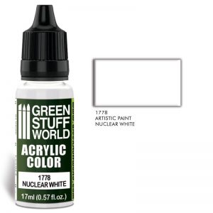 Green Stuff World   Acrylic Paints Acrylic Color NUCLEAR WHITE - 8436574501377ES - 8436574501377