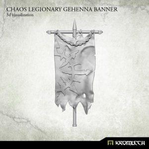 Kromlech   Heretic Legionary Conversion Parts Chaos Legionary Gehenna Banner (1) - KRCB184 - 5902216115378
