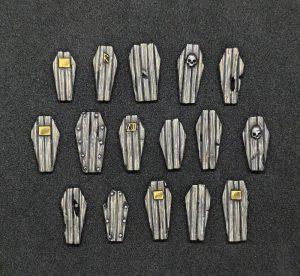 Baker Bases   BB Conversion Parts Coffin Lid Shields x20 - CB-SH-05-COF -