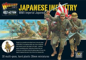 Warlord Games Bolt Action  Japan (BA) Imperial Japanese Infantry - WGB-JI-02 - 5060200845370