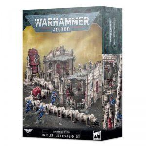 Games Workshop Warhammer 40,000  Warhammer 40000 Essentials Command Edition Battlefield Expansion - 99120199075 - 5011921144129