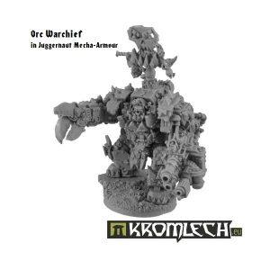 Kromlech   Orc Model Kits Orc Warchief in Juggernaut Mecha-Armour - KRM054 - 5902216111776
