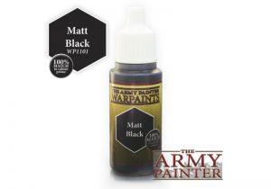 The Army Painter   Warpaint Warpaint - Matt Black - APWP1101 - 2561101111111