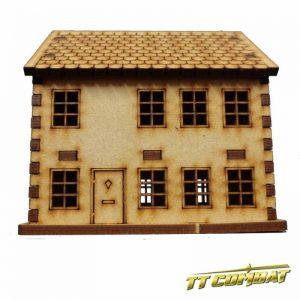 TTCombat   World War Scenics 15mm Town House - WAR003 -