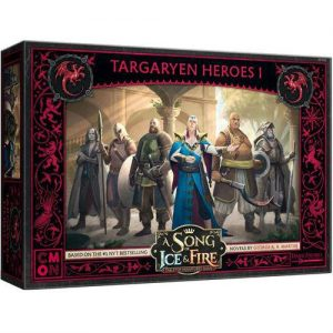 Cool Mini or Not A Song of Ice and Fire  House Targaryen A Song of Ice and Fire: Targaryen Heroes #1 - CMNSIF609 - 889696010513