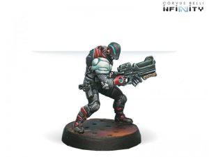 Corvus Belli Infinity  Nomads Wildcats, Polyvalent Tactical Unit (Spitfire) - 280557-0376 - 2805570003769