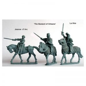 Perry Miniatures   Perry Miniatures Jeanne d'Arc, La Hire, 'Bastard of Orleans' - AO33 -
