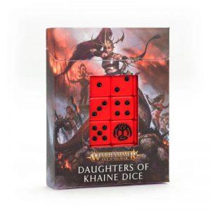 Games Workshop Age of Sigmar  Daughters of Khaine Daughters of Khaine Dice Set - 99220212003 - 5011921142347