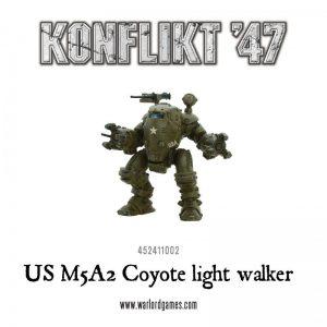 Warlord Games Konflikt '47  SALE! US M5A2 Coyote / Guardian Light Walker - 452411002 - 5060393704744