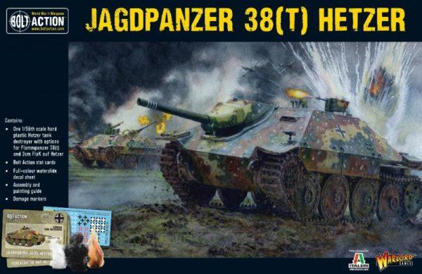 Warlord Games Bolt Action  Germany (BA) German Hetzer Jagdpanzer 38(t) Tank Hunter - 402012020 - 5060393709268