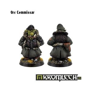 Kromlech   Orc Model Kits Orc Commissar (1) - KRM008 - 5902216111332