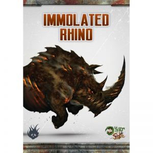 Wyrd The Other Side  Cult of the Burning Man Immolated Rhino - WYR40262 - 812152030534