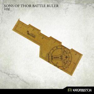 Kromlech   Tapes & Measuring Sticks Sons of Thor Battle Ruler [HDF] (1) - KRGA030 - 5902216114241