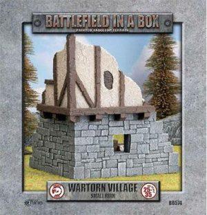 Gale Force Nine   Battlefield in a Box Wartorn Village - Small Ruin - BB574 - 9420020234697