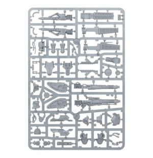 Games Workshop (Direct) Adeptus Titanicus  40k Direct Orders Adeptus Titanicus: Reaver Melta Cannon, Chainfist, Volcano Cannon and Turbo Laser Weapons Sprue - 99220399004 - 5011921121403