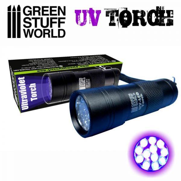Green Stuff World   Ultraviolet Resin Ultraviolet Torch - 8436574502688ES - 8436574502688