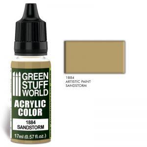 Green Stuff World   Acrylic Paints Acrylic Color SANDSTORM - 8436574502435ES - 8436574502435