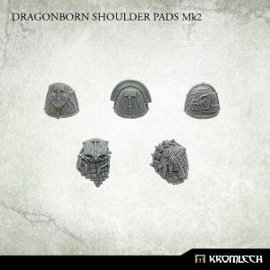 Kromlech   Legionary Conversion Parts Dragon Shoulder Pads Mk2 (10) - KRCB223 - 5902216117259