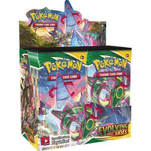 Pokemon Pokemon - Trading Card Game  Pokemon Pokemon TCG: Sword & Shield 7 Evolving Skies Booster Box - POK81877 - 820650818776