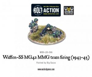 Warlord Games Bolt Action  Germany (BA) Waffen-SS MG42 MMG team - WGB-LSS-04 - 5060200846520