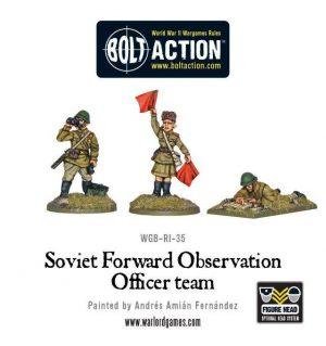 Warlord Games Bolt Action  Soviet Union (BA) Soviet Forward Observer Officers (FOO) - WGB-RI-35 - 5060200844793